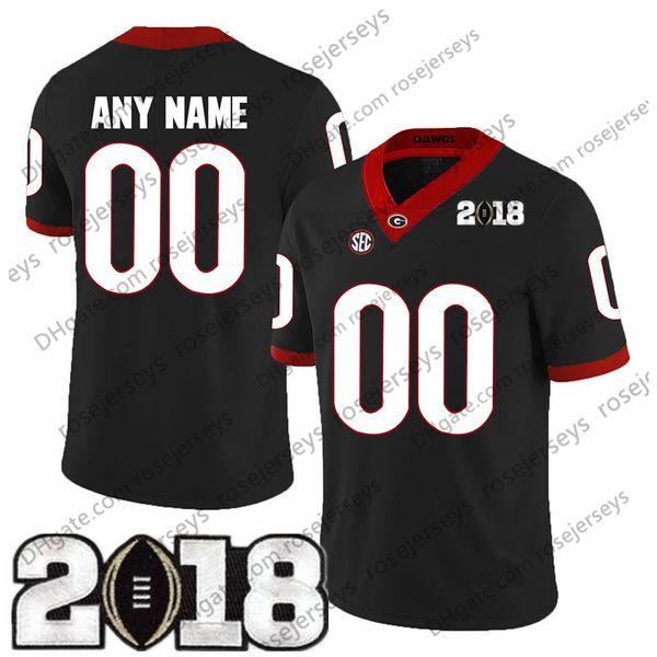 Noir avec numéro blanc 2018