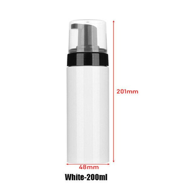 200ml di plastica bianca
