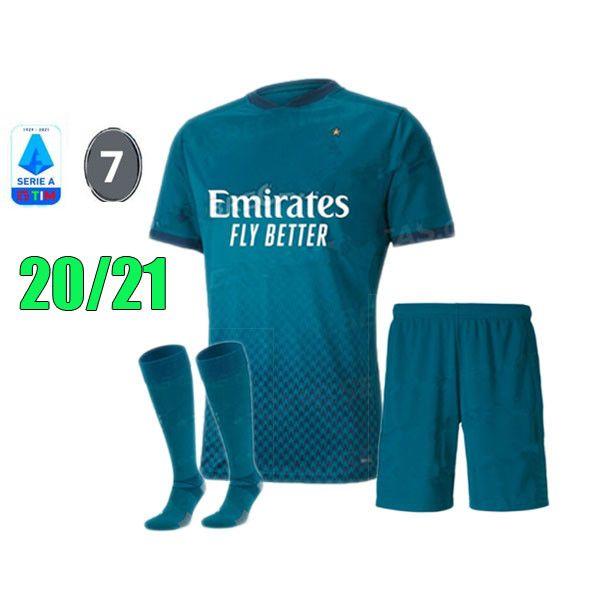 2020-21 dritte Kit + Patch