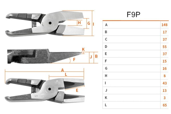F9P juego de hojas 1pc