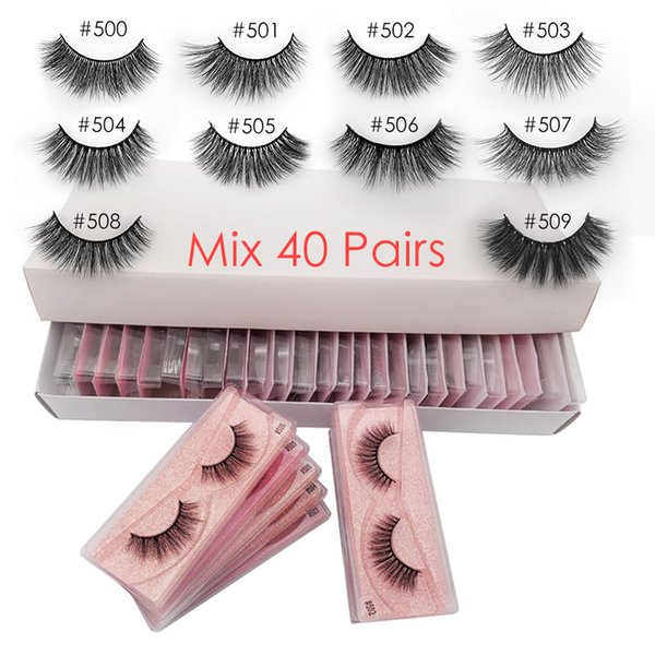 LASHES Mix 40 paires CHINA