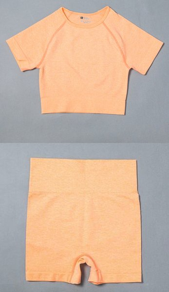 Orange Top Short