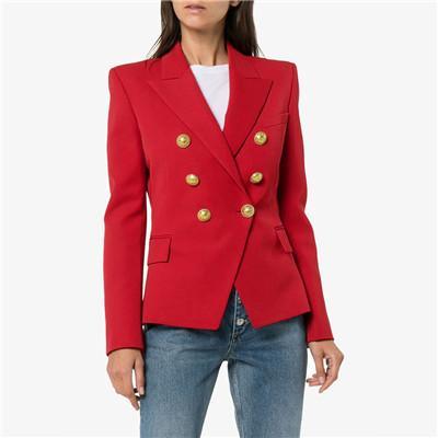 rouge blazer