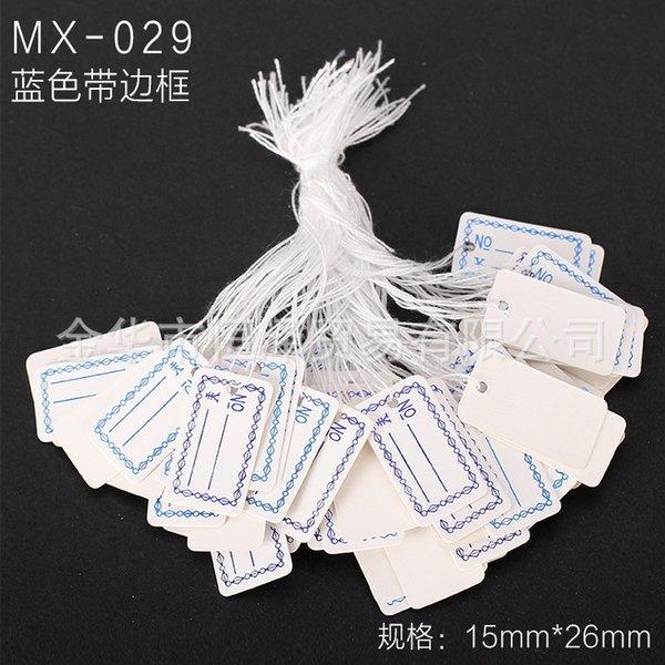 Mx-029-un paquet de 100 pièces