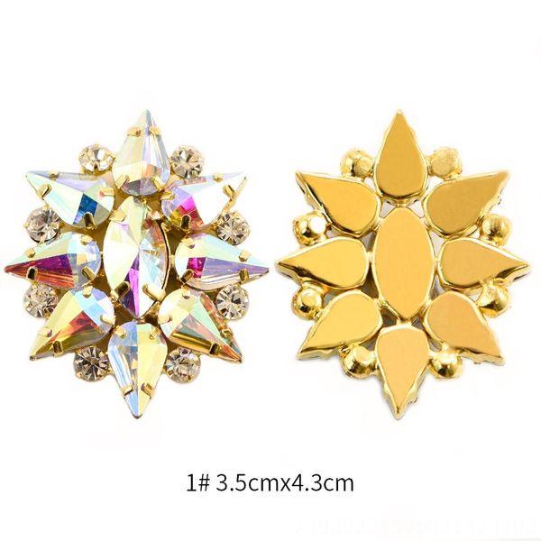 1 # 3.5cmx4.3cm-Golden Sole