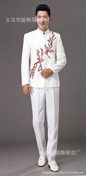 White Blossom Plum Men # 039; s style
