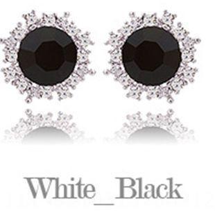 Platinados (circón negro) -925 Silve