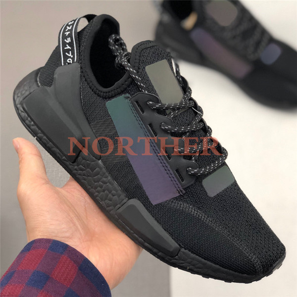 iridescent triple black