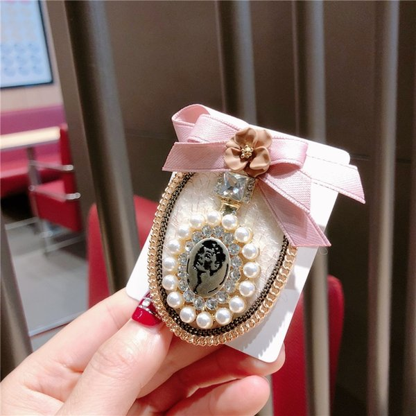 Pink Bow Perfume Bottle
