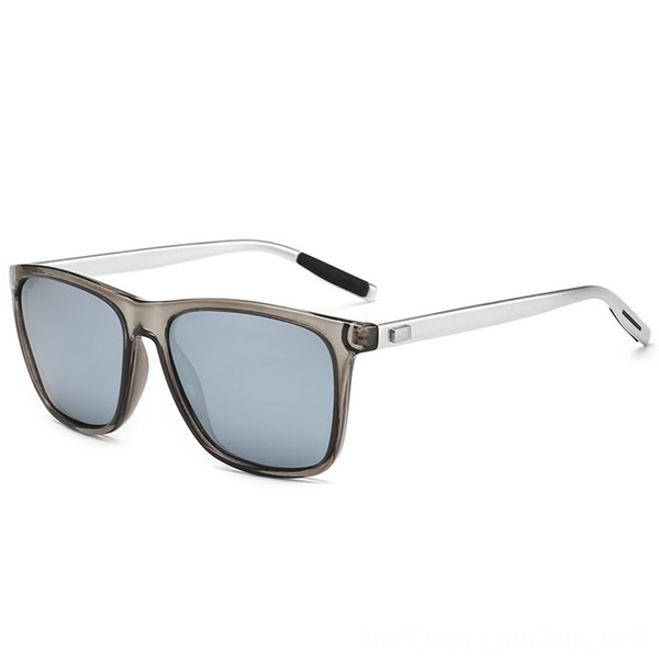 No. 7 Silver Gray Frame White Mercury Ta