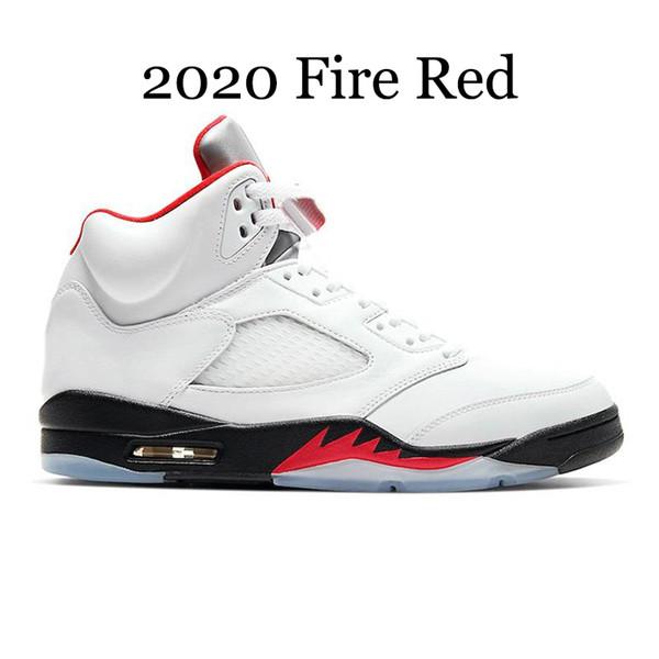2020 огонь красный