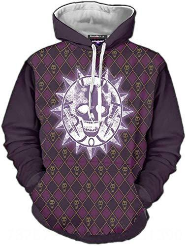 Purple Skull Jojo Sweater