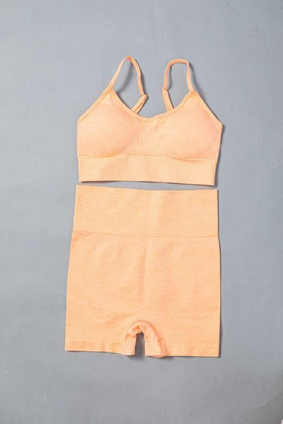Orange Bra Short