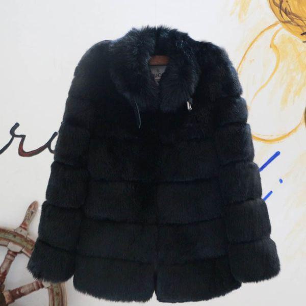 pelliccia nera