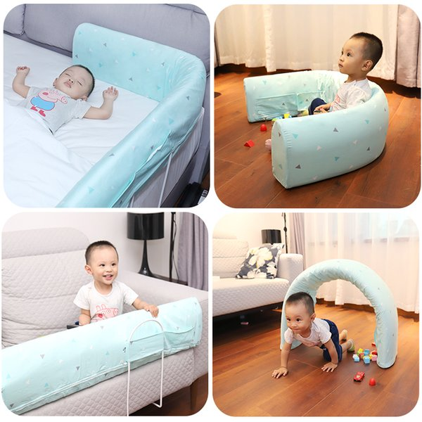 top popular Baby Bed Fence Safety Gate Products child Barrier for beds Crib Rail Security Fencing for Children Guardrail Safe Kids playpen 2020
