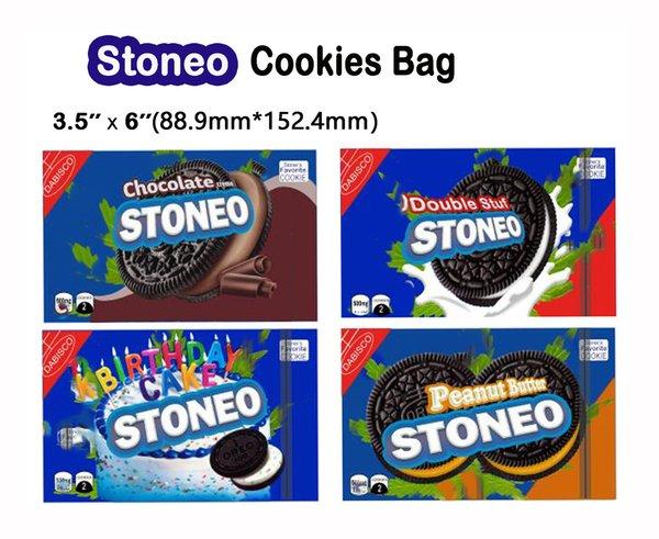 top popular Empty Stoneo Cookies bags Stoneo Birthday Cake Peanut Butter Chocolate Cookies Bag Packaging Errlli Weedtarts Bites Bag Starburst bags 2020