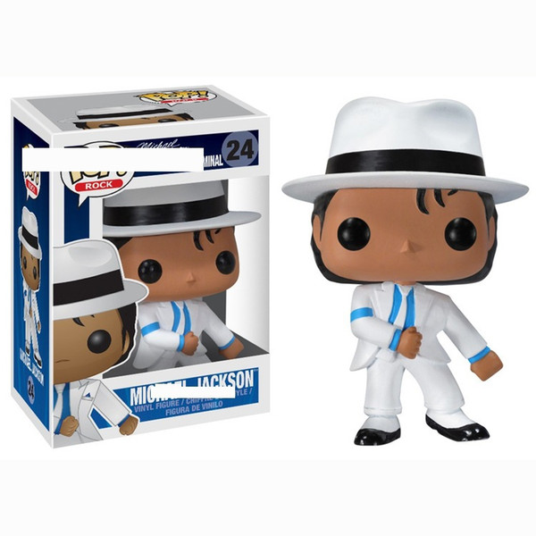 best selling Funko POP Michael Jackson boys and girls over 3 years old handset model children's Toy model many-color Billie Jean Military