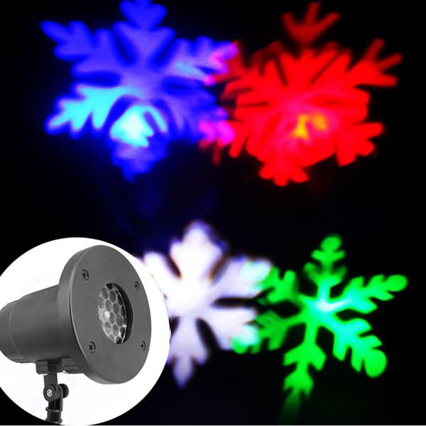 RGBW Snowflake lamp