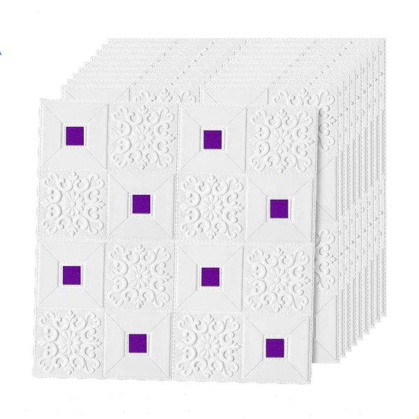 bianco viola-10pcs70x70x0.3cm