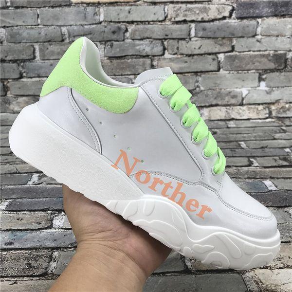 흰색 녹색
