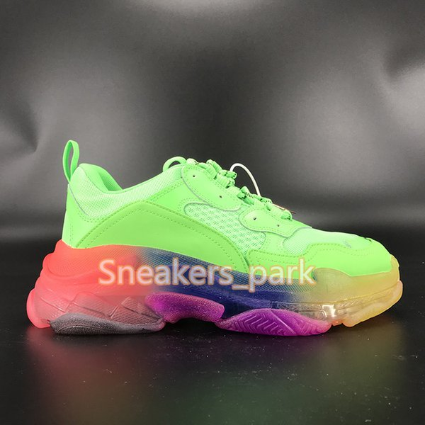C13- green rainbow sole