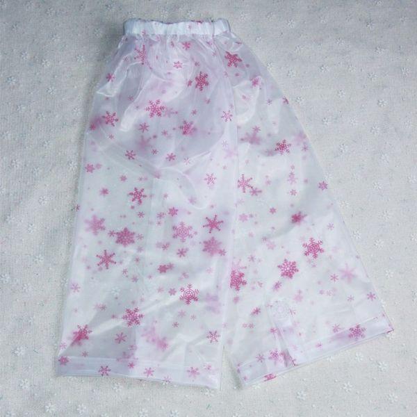 Kırmızı Kar tanesi Pantolon Tüp Kapağı