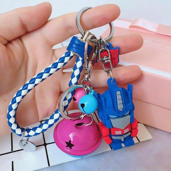 Blu + blu e bianco corda + Piccolo Tag +