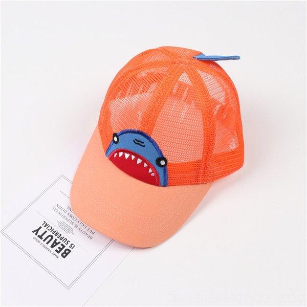 Big Shark Net Hat Orange