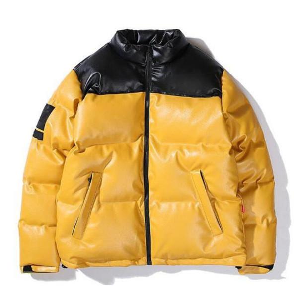 top popular Mens Jacket Mens Parkas Jacket Men Women High Street Men Warm Jackets Outerwear Thickness Winter Man Coats 5L1W 2021