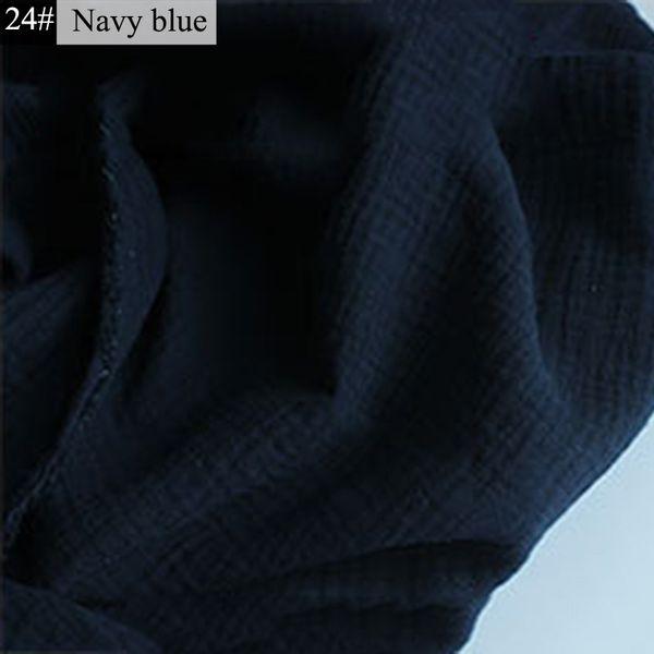 24-Navy Blue-50cm x 135 centimetri