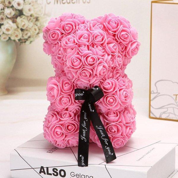 Rosa 25 cm senza scatola