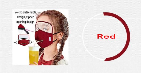 Rot / Zipper Abnehmbarer