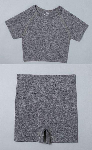 Gray Top Short