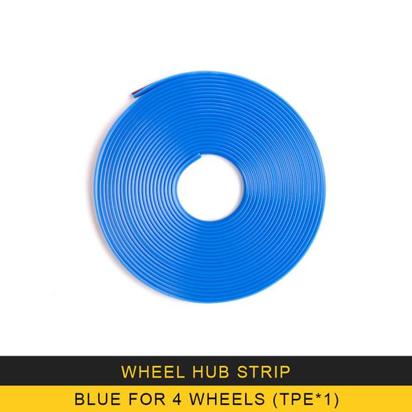 Blau für 4 Räder
