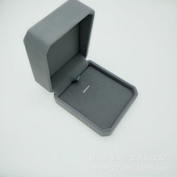 Boîte à bijoux gris