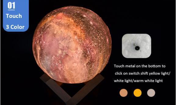 8cm / touch 3 couleurs
