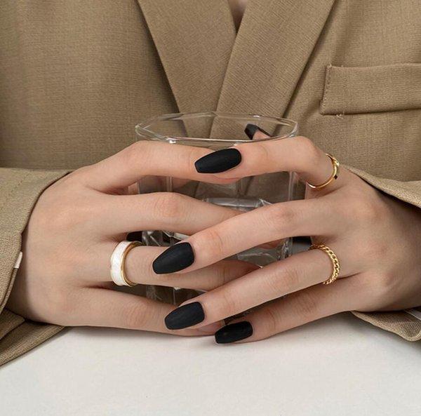 Tres piezas de anillo