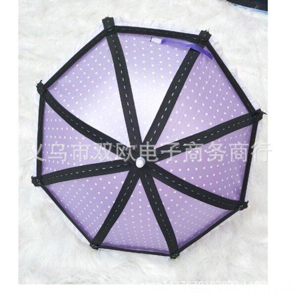 Violet 8-brin parapluie
