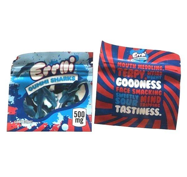 500mg Errlli Gummi Köpekbalıkları