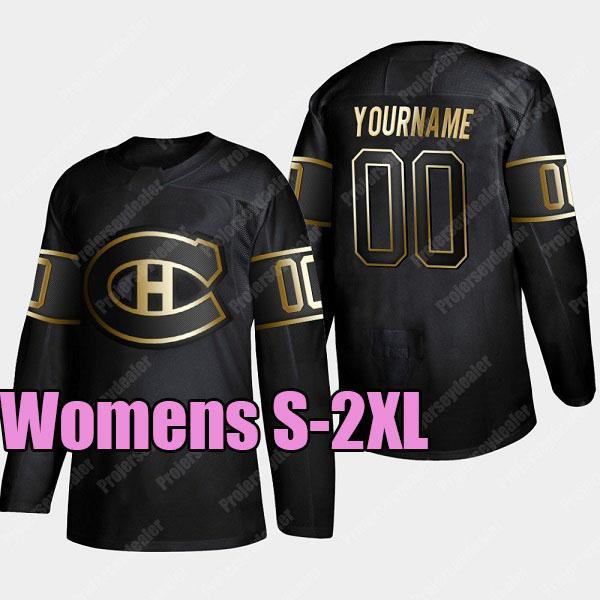 2019 Golden Edition Balck Womens S-2XL