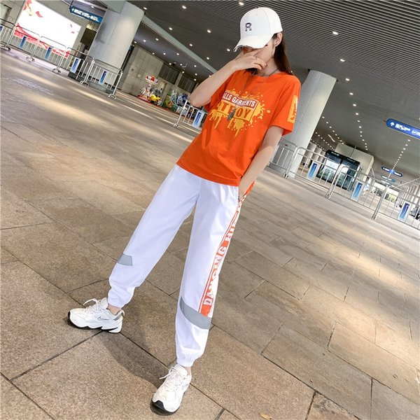 8820 Beyaz Turuncu Pantolon 215 Turuncu Takım Elbise