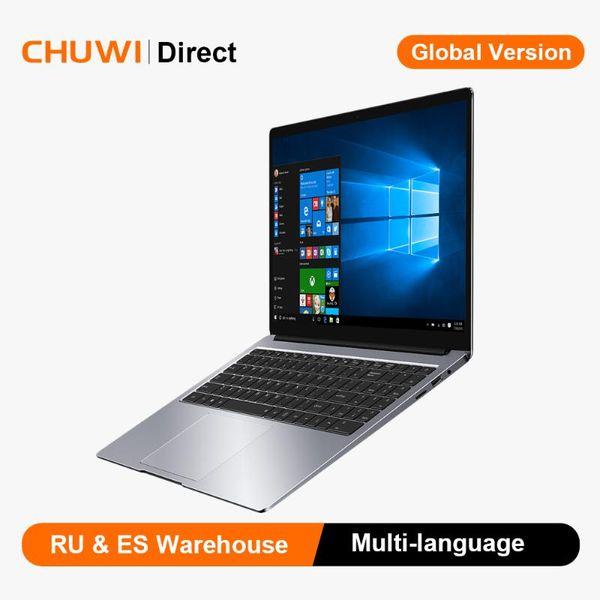 top popular CHUWI AeroBook Plus Intel Notebook 15.6 inch 4K IPS Screen Windows10 8GB RAM 256GB SSD Laptop 2020