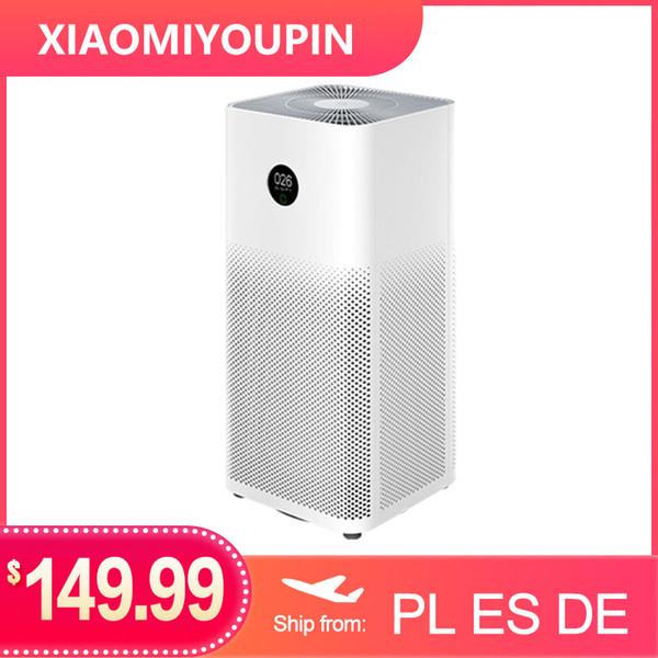 best selling Xiaomi Air Purifier 3 3H Filter Mi Air Cleaner Fresh Ozone home auto Smoke formaldehyde sterilizer Cube Smart MIJIA APP Control