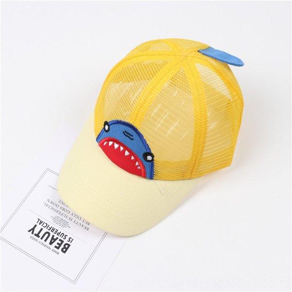 Акулы Чистая Hat желтый (бежевый Брим)
