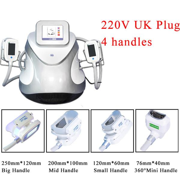 220V UK Plug 4 ручки