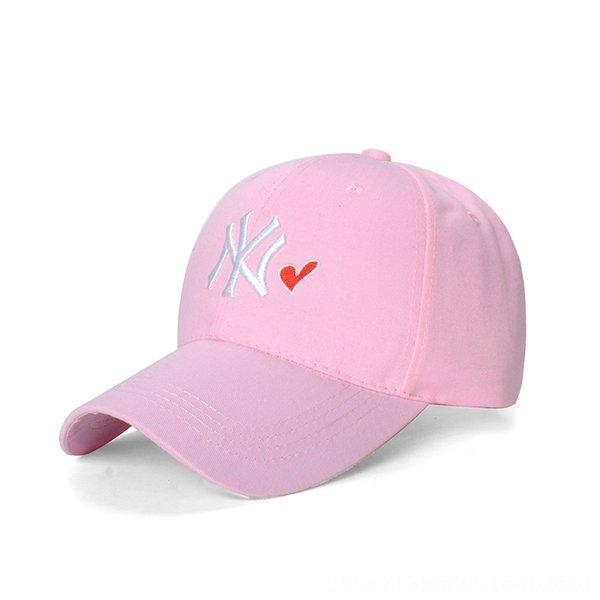 Розовый Hat Малый Белый н Красный сердца Adjusta