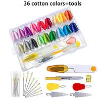 36 cottons +tools
