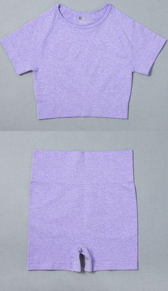 Purple Top Short
