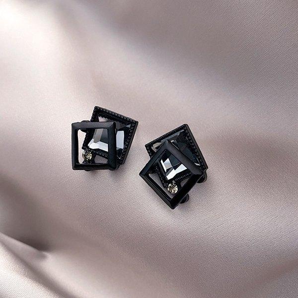 51 # Katlama Siyah Çerçeve Kristal