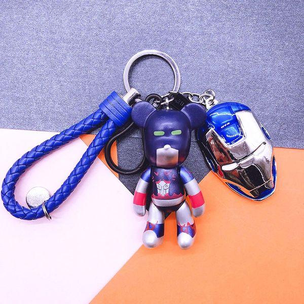 Optimus Prime + cuir bleu corde + Silv